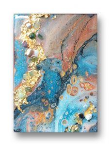abstract acrylic painting by Florence Ancillotti